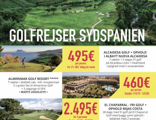 Annonce i Golfbladet – september udgave